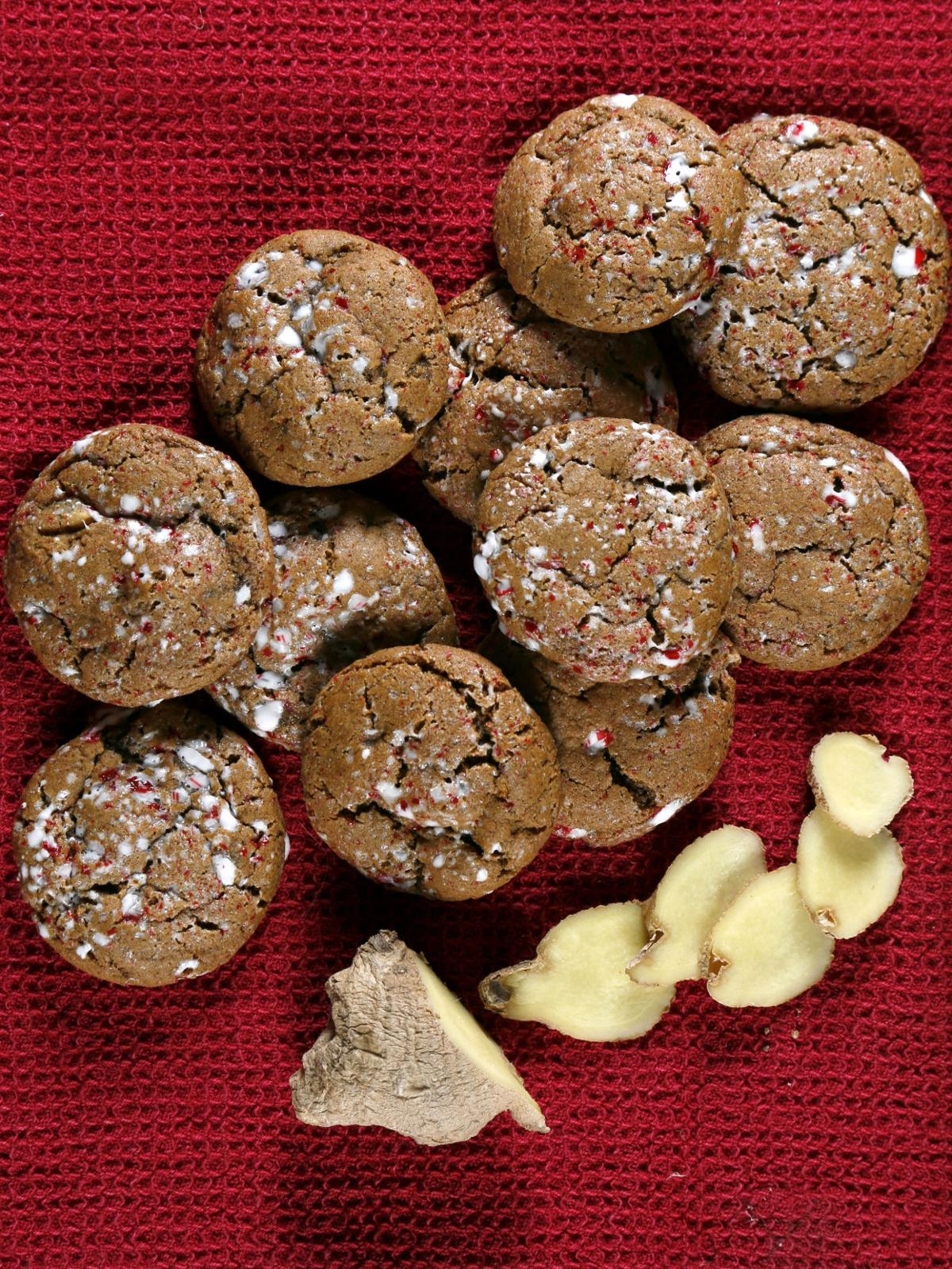 12 Days Of Cookies Day 9 Ginger Ginger Ginger Christmas Cookies