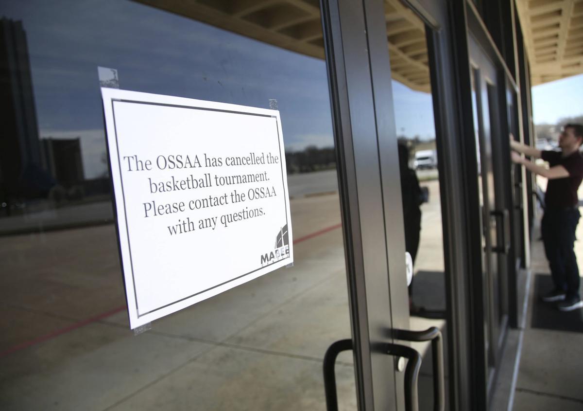 Virus Outbreak Oklahoma Baseball