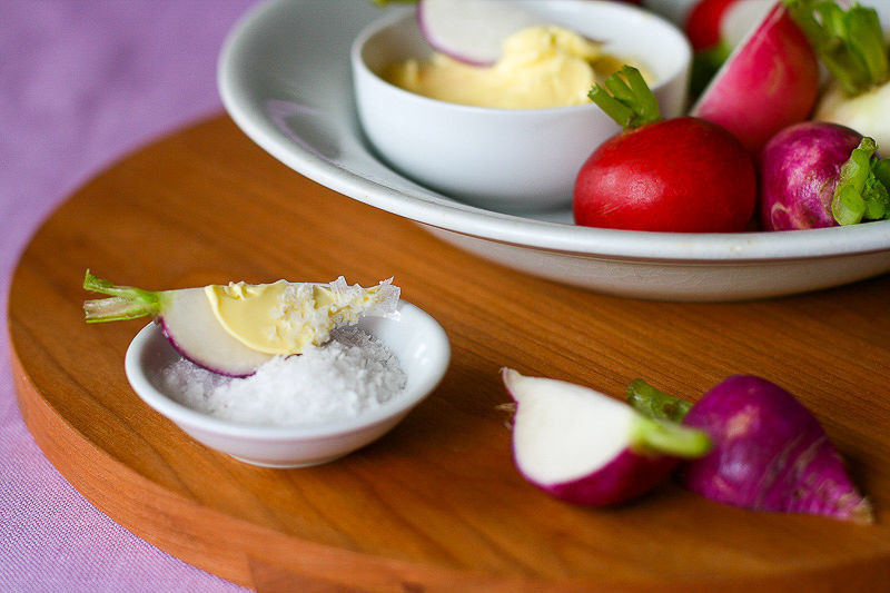Radishes with Butter-4
