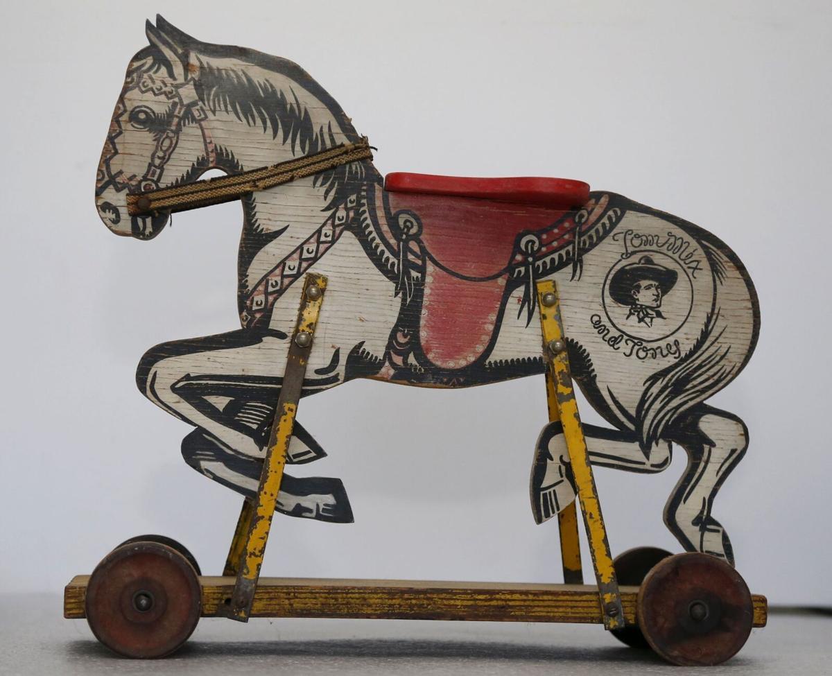 Tom Mix toy horse