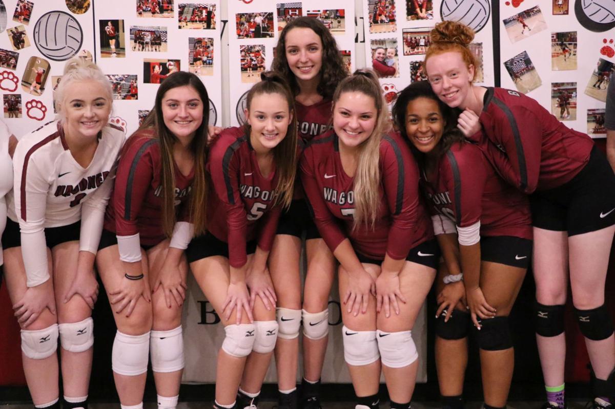 Wagoner Volleyball Senior Night