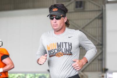 OSU head coach Mike Gundy