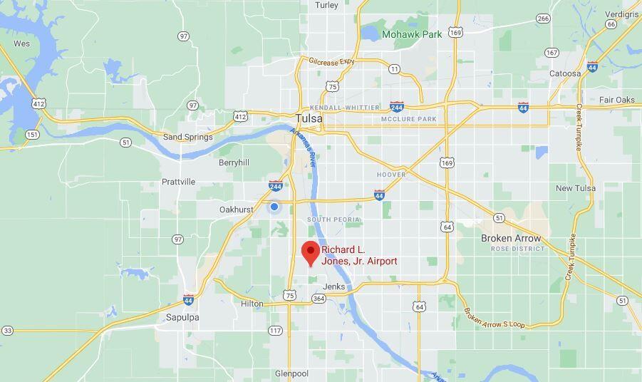 Jones Riverside map