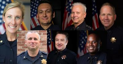 Seven internal police chief candidates