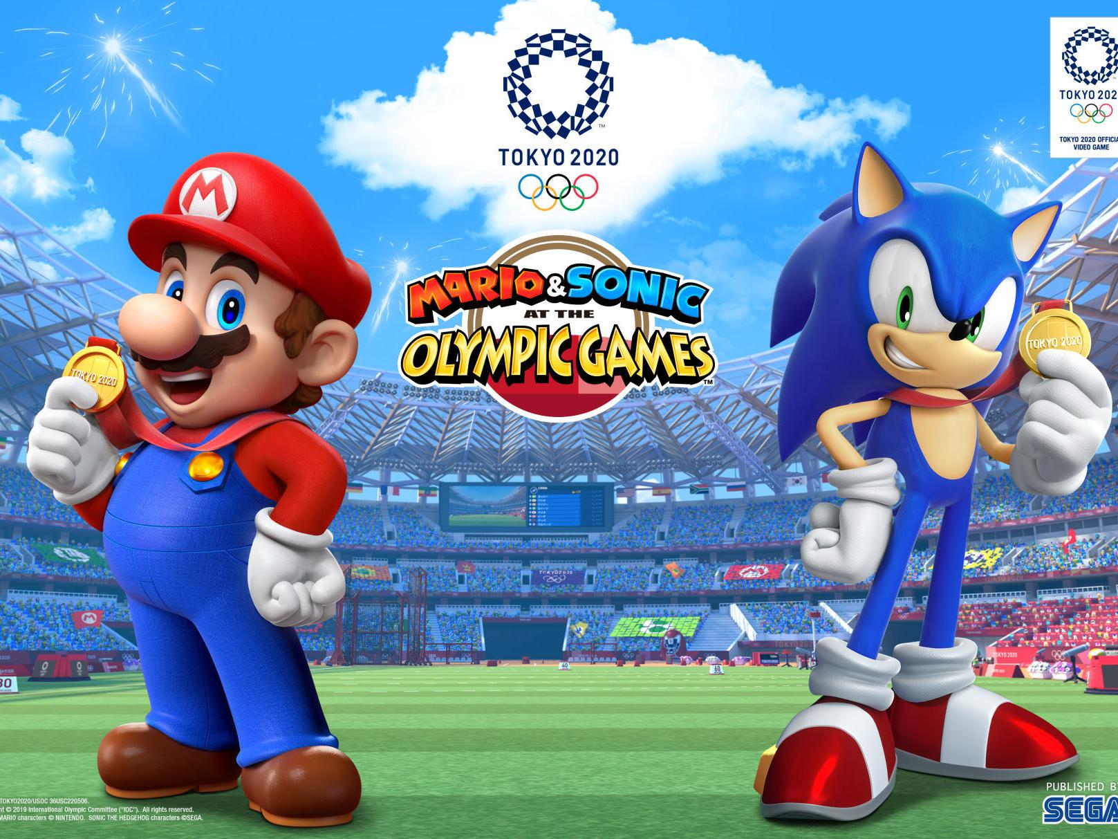 Review Mario Sonic At The Olympic Games Tokyo 2020 For Nintendo Switch Entertainment Tulsaworld Com