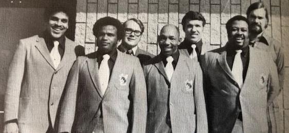 1971 B.T. Washington coaching staff