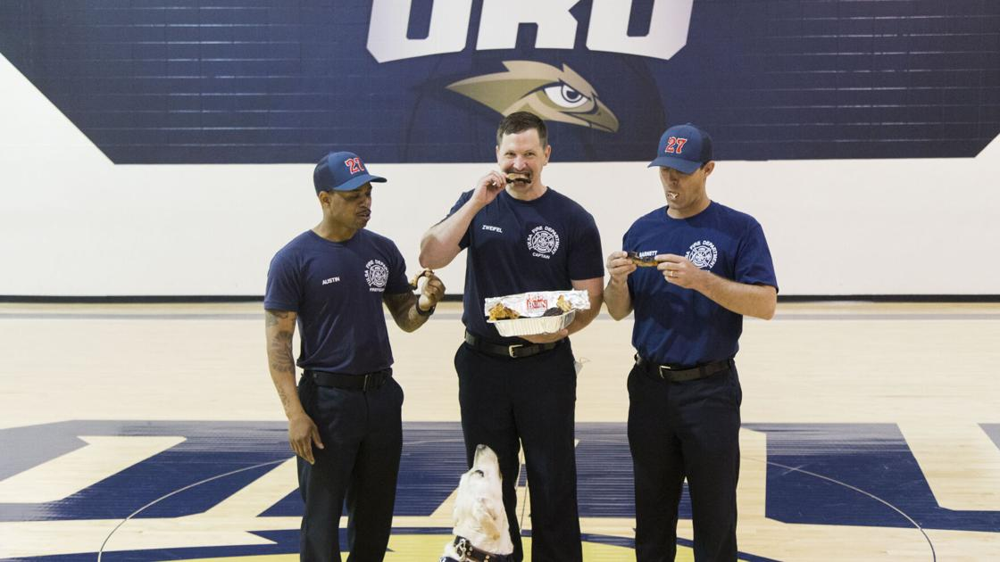 Sweet Sixteen fever infiltrates Tulsa, Fayetteville fire departments ahead of NCAA Tournament matchup