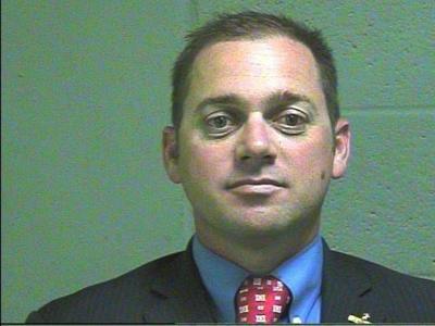 Oklahoma State Senator Bryce Marlatt booking mug newsok