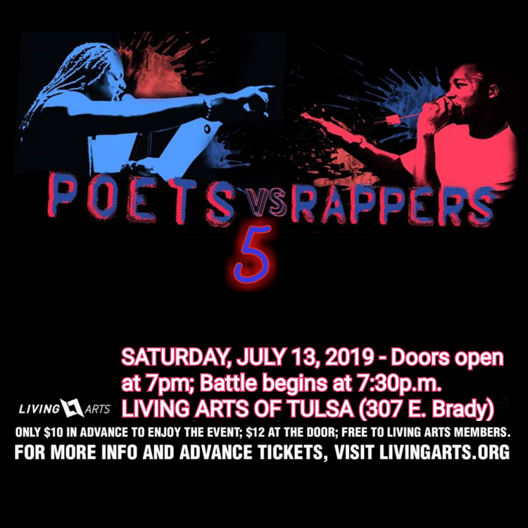 Poets vs Rappers 5 Poster