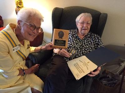 Shirle Williams receives historical award
