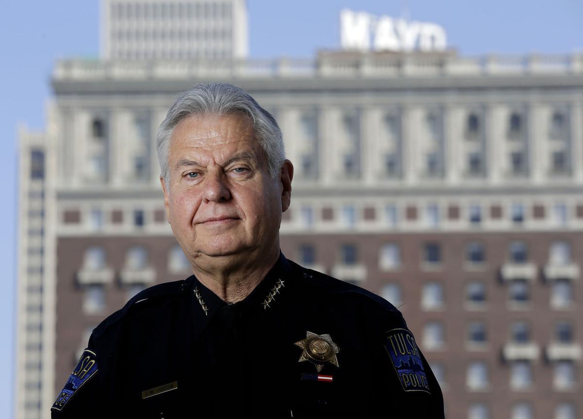 cab35b53370353 Words and actions  Tulsa Police Chief Chuck Jordan shows leadership ...