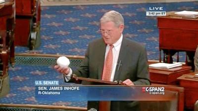 Inhofe snowball