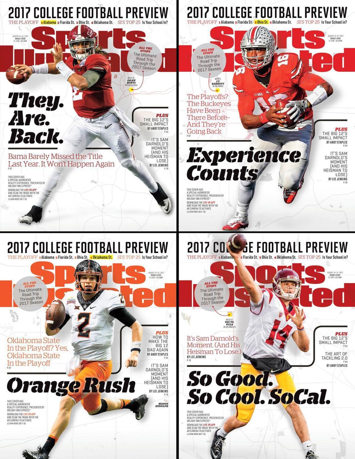 OSU football: Sports Illustrated's Mason Rudolph cover