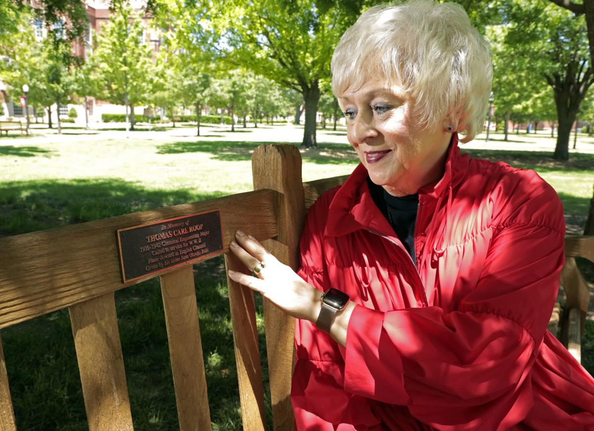 Sgt. Carl Roop Bench at OU