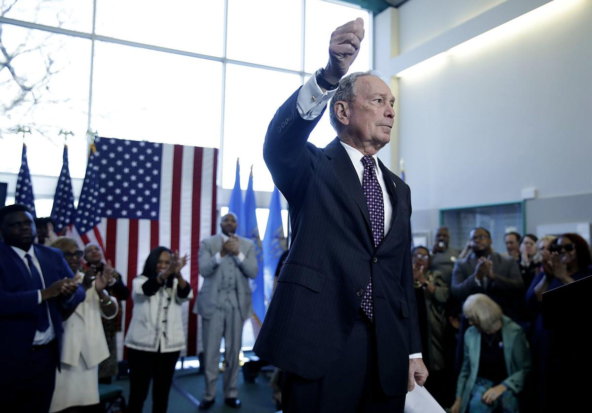 Michael Bloomberg in Tulsa