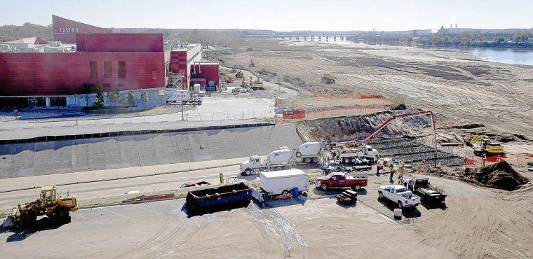 Riverspirit casino margaritaville construction MW