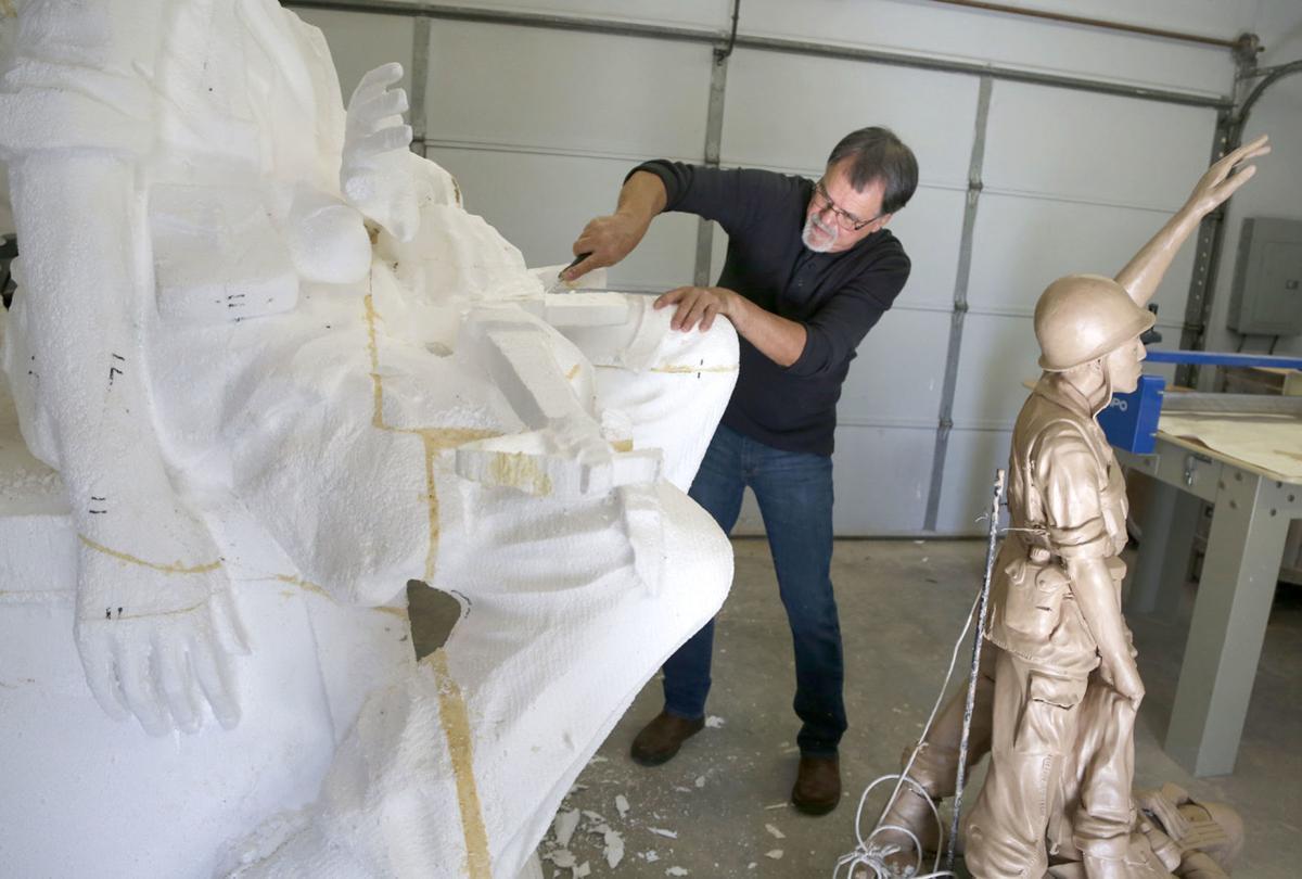 Cherokee Sculptor
