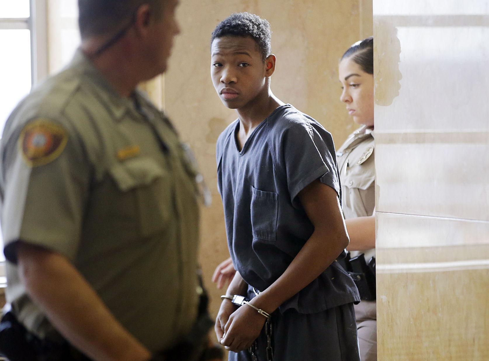 GREEN ROBBERY HEARING Teenage murder suspect has