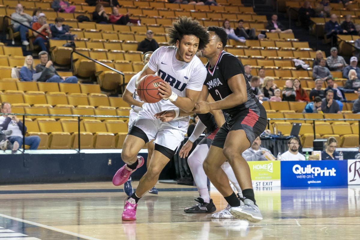 Oral Roberts University faces Omaha - Men's Basketball