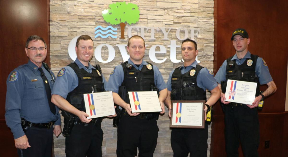 Coweta Police honors