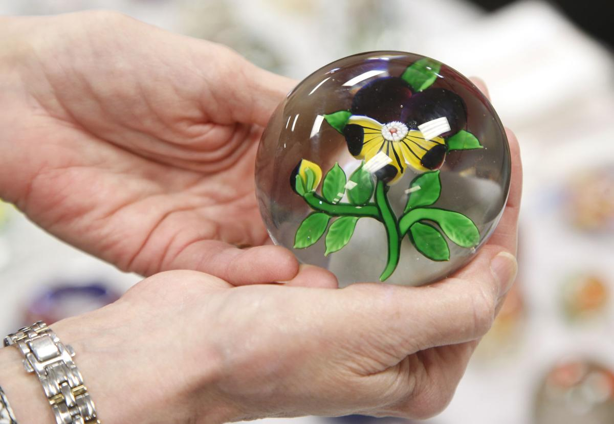Photo Gallery: The colorful art of paperweights ...
