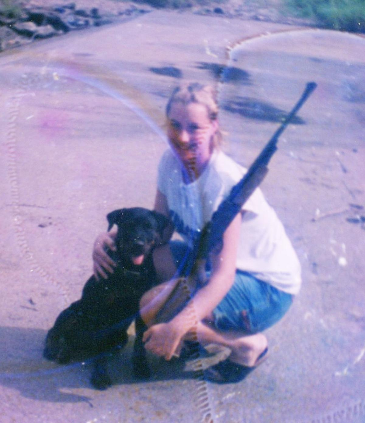 Ashley Freeman loved to fish  Lauria Bible was a country girl who