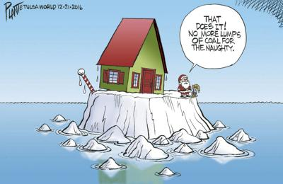 Bruce Plante Cartoon: From the North Pole