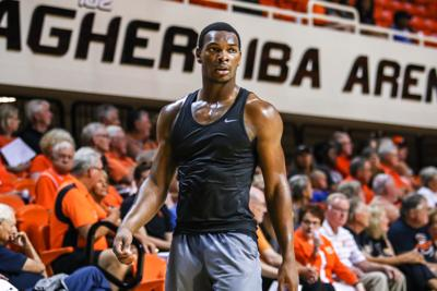Oklahoma State's open basketball practice