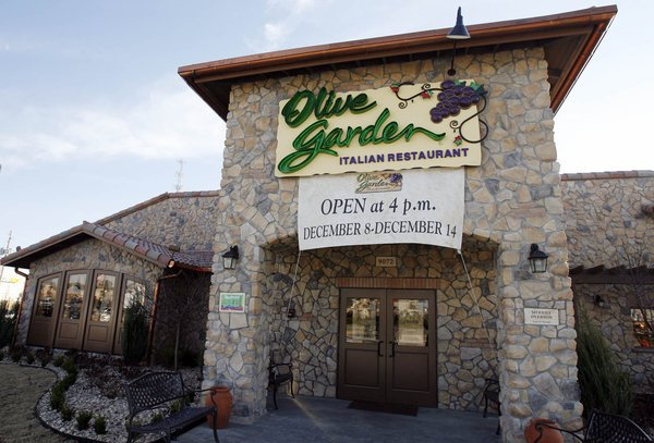 Olive Garden Set To Open Work Money