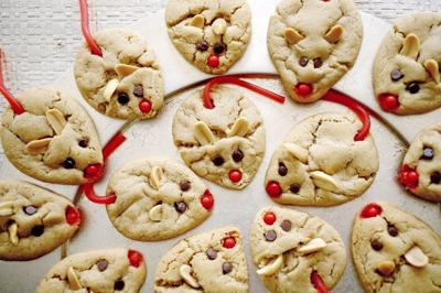 12 Days Of Cookies Day 9 Peanut Butter Christmas Mice Food
