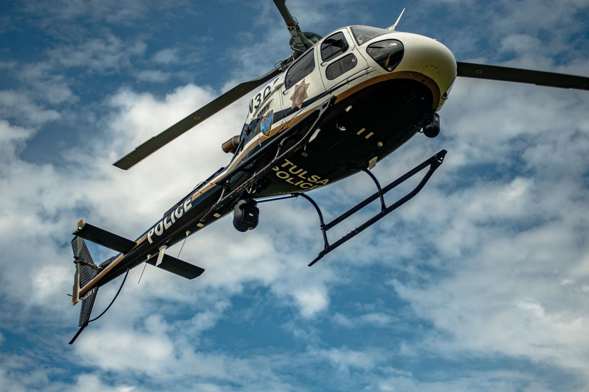 Tulsa Police Department helicopter