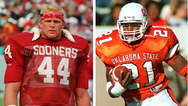 Brian Bosworth Oklahoma Sooners Jordan Football Jersey - Crimson