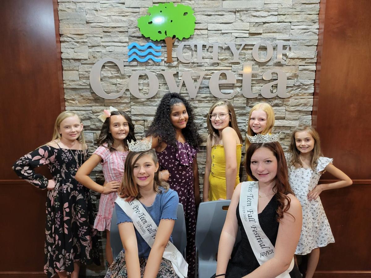 Coweta's Junior Miss Fall Festival