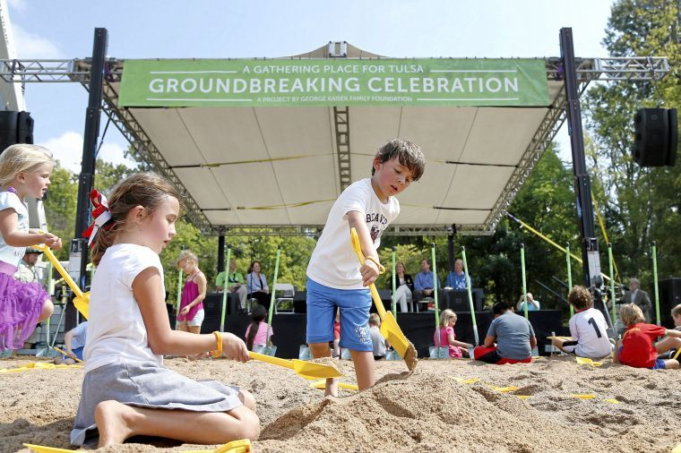 Gathering Place Ground Breaking