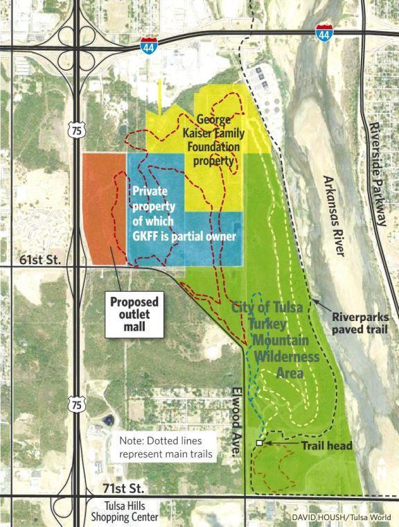 Turkey Mountain And Traffic At Heart Of West Tulsans Concerns About