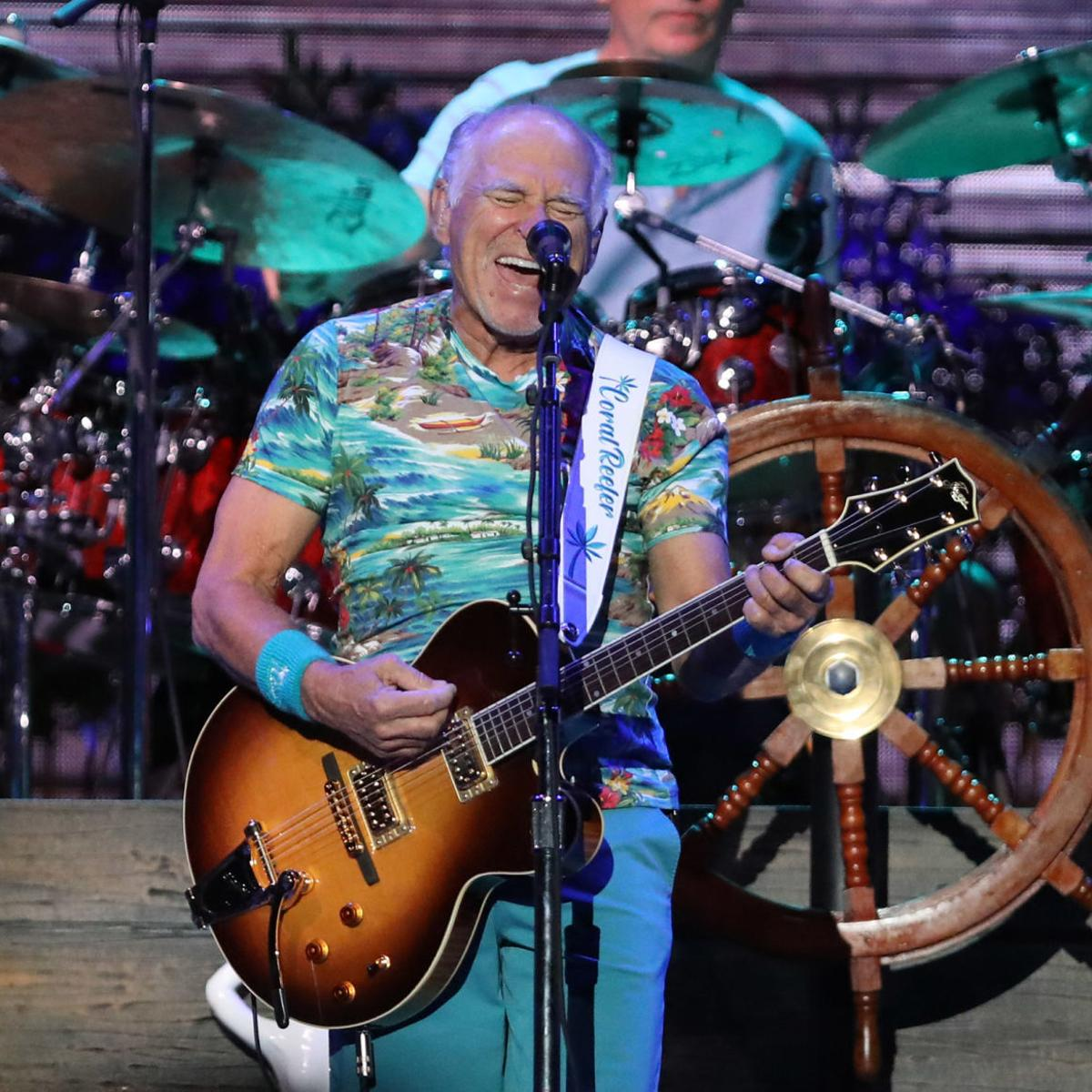Jimmy Buffett comes 'home' to give weather-weary Tulsans a
