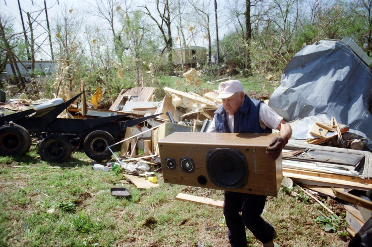Photo Gallery The Devastation Of The Deadly 1993 Tornado
