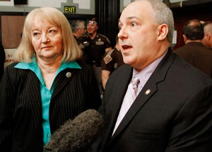 State Rep. Randy Terrill, former state Sen. Debbie Leftwich charged with bribery