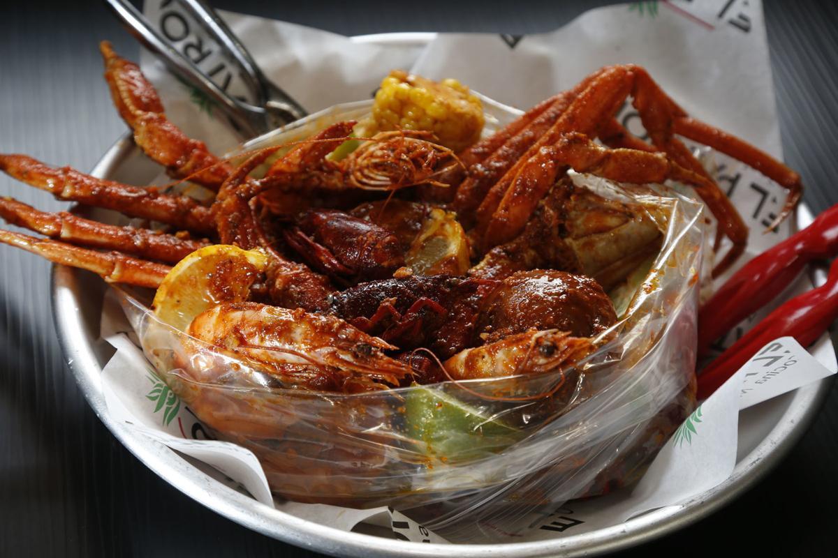 El Patron seafood boil