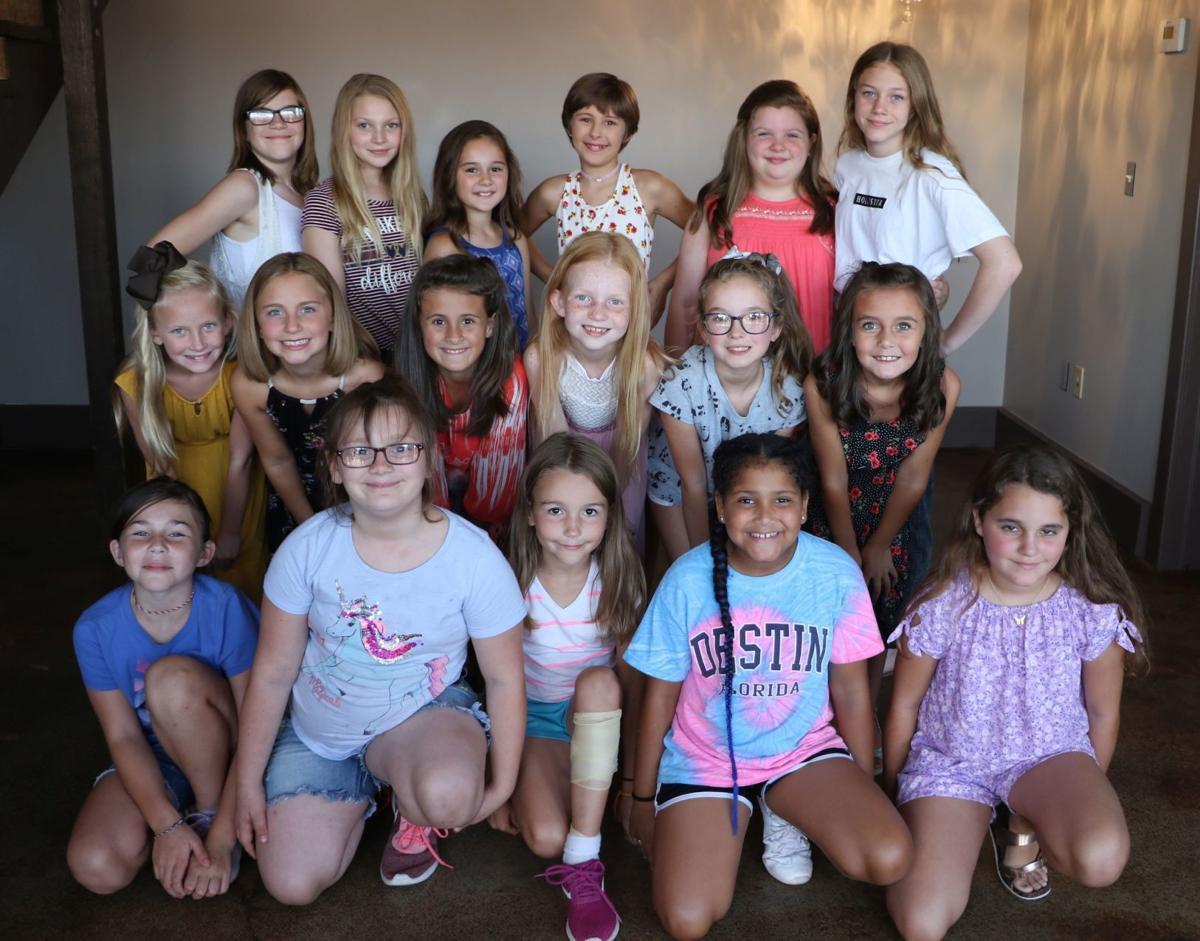 Miss Pre-Teen Fall Festival Contestants