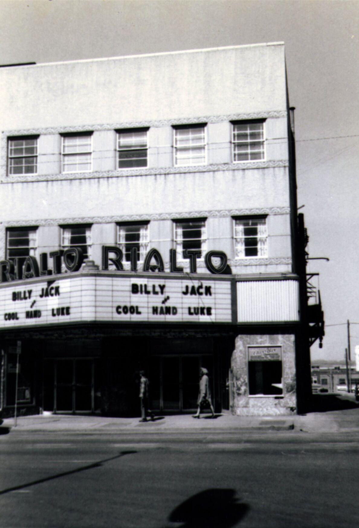 Old Tulsa World movie theater