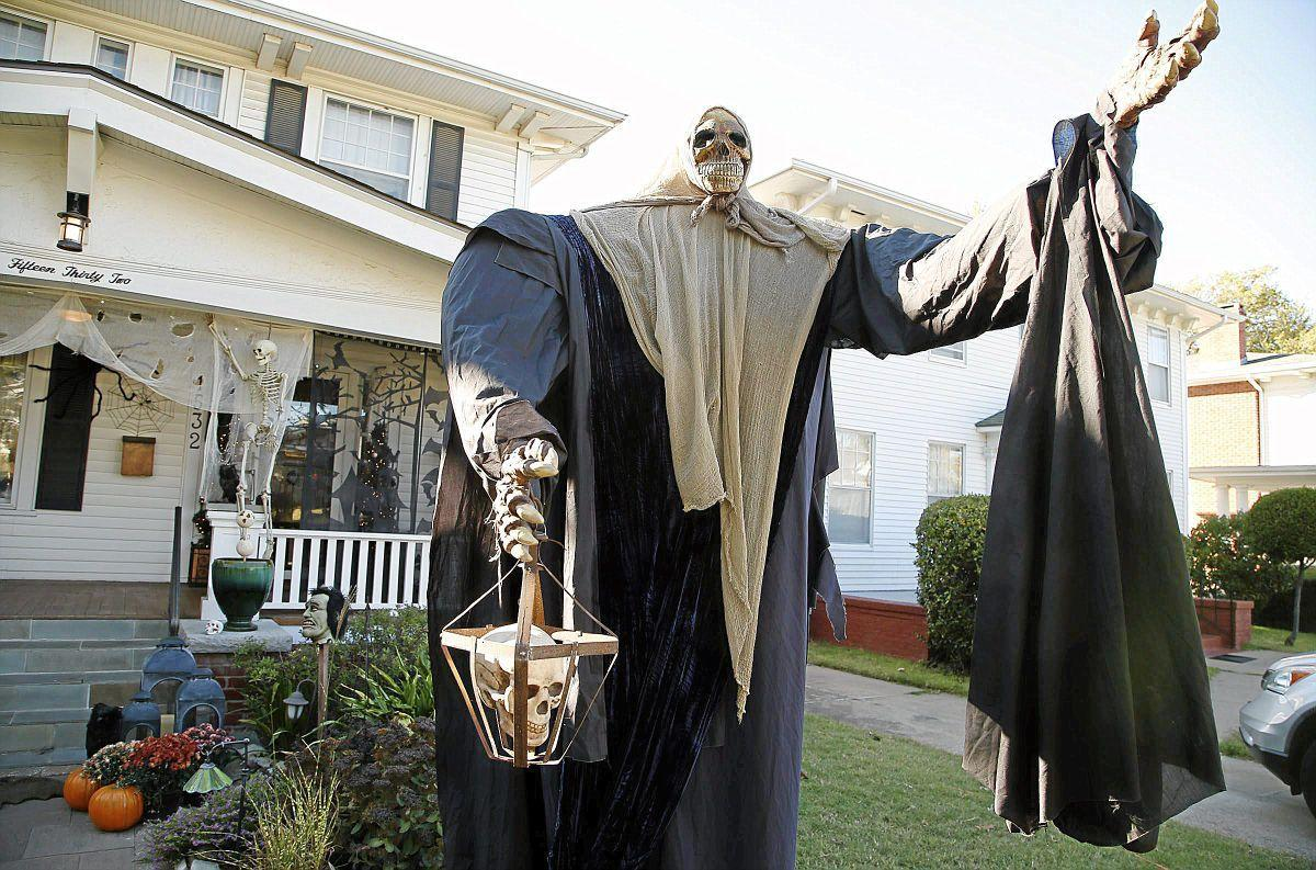meet the couple behind one of tulsa's best halloween party houses