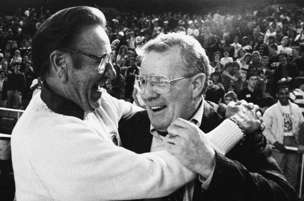 Ken Trickey and Oral Roberts