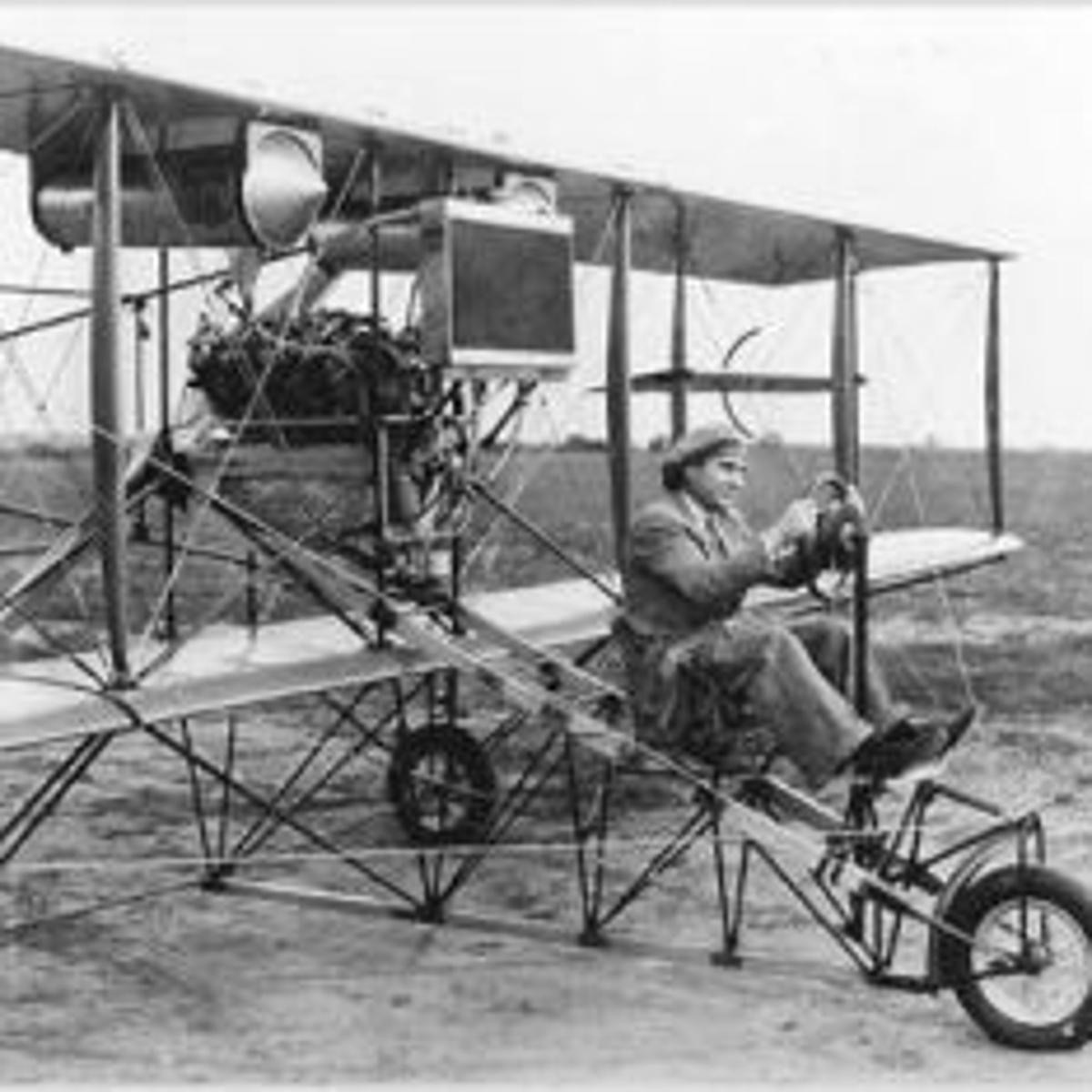 Billy Parker: Barnstormer And Inventor: State's 'Boy Aviator