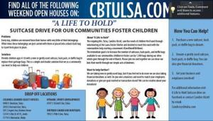 Suitcase Drive for Our Communities Foster Children
