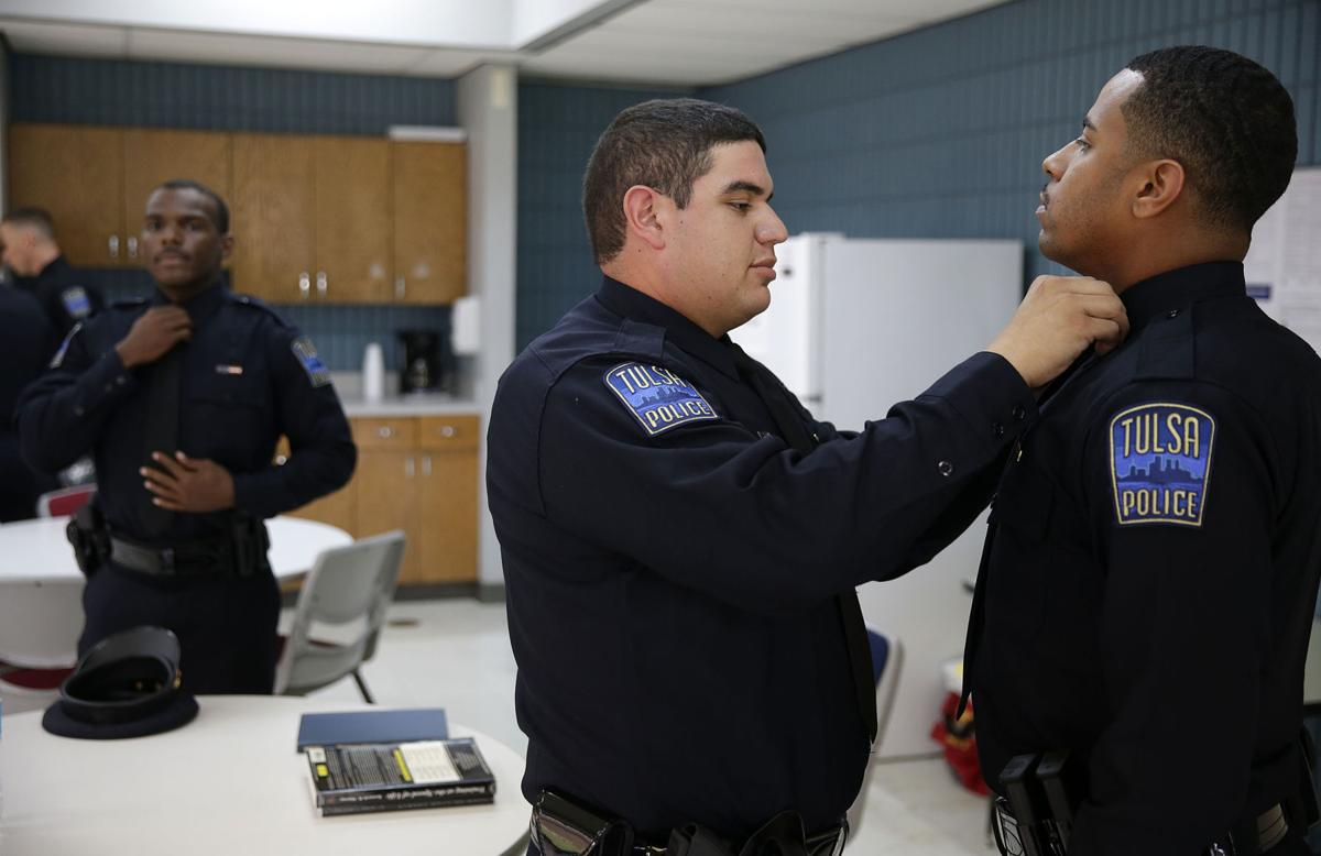 Photo gallery: New Tulsa Police Officers graduate from the