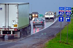 Truckers weigh cost of detours