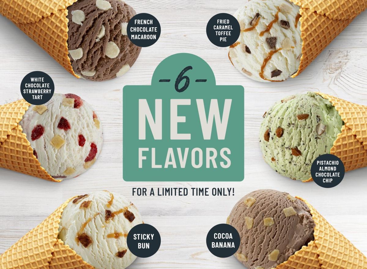 2021 - 6 New Ice Cream Flavors - Register Card