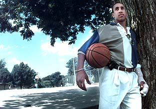 He Slips Up, But That's John Starks' Philosophy of Life On, Off the Court