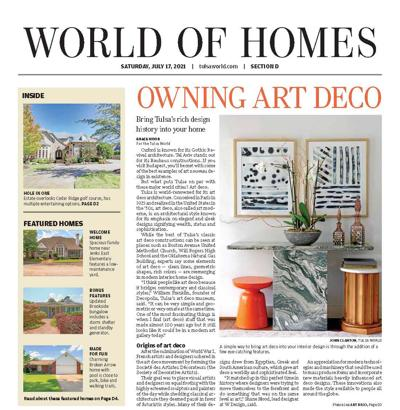 World of Homes Cover 7/17/21